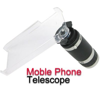 8X Zoom Universal Mobile Phone Telescope with Anti-slip Design